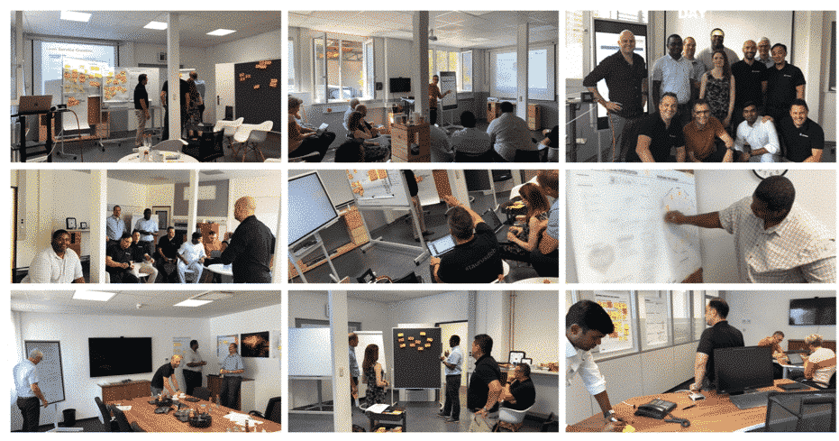Customer-Centricity – Design Thinking Workshop with sales and marketing staff from AS-Schneider.