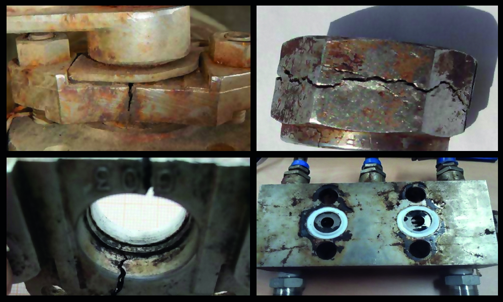 Chloride Corrosion of Stainless Steel - Chloride induced stress corrosion cracking (CISCC).