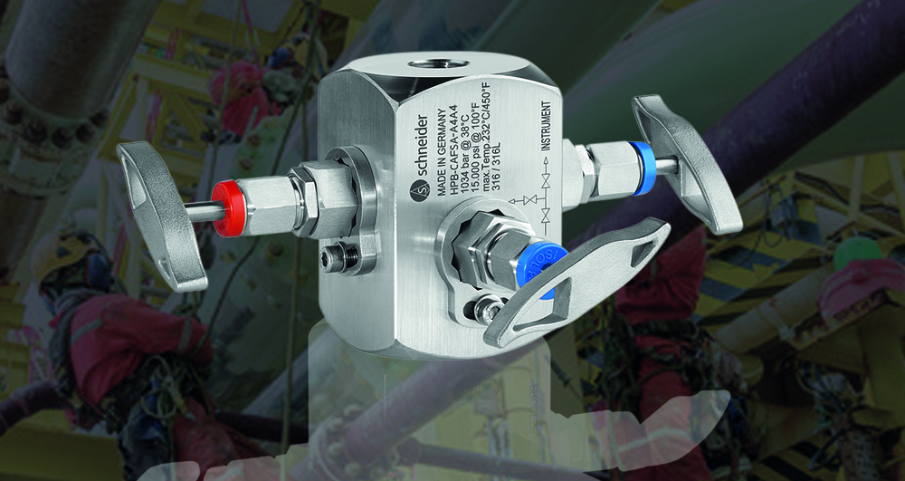 High pressure needle valves up to 15,000 psi.